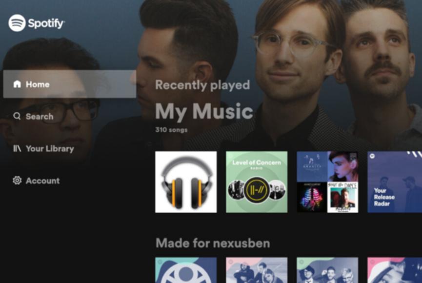 Spotify推出适用于Android TV的新应用