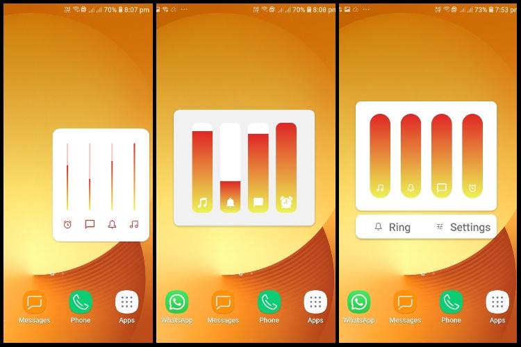 带有新Ultra Volume应用程序的主题Android的音量面板