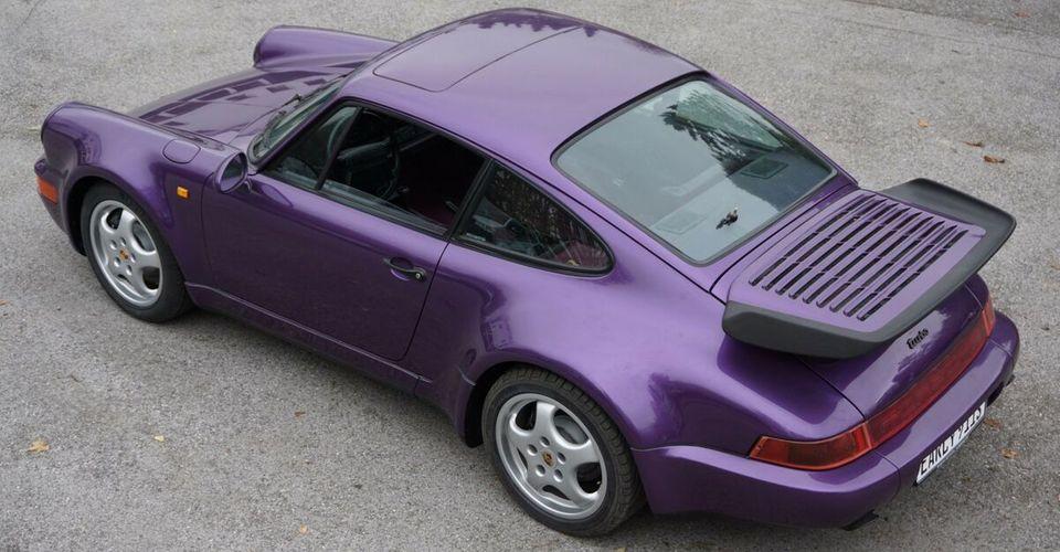 几乎全新的1991年保时捷911 Turbo出售310英里