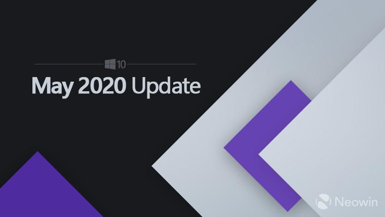 据报道,微软将于5月28日发布Windows 2020年5月10日更新