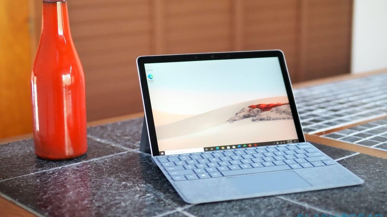 Surface Go 2为经济实惠的Windows平板电脑增加了更大的屏幕