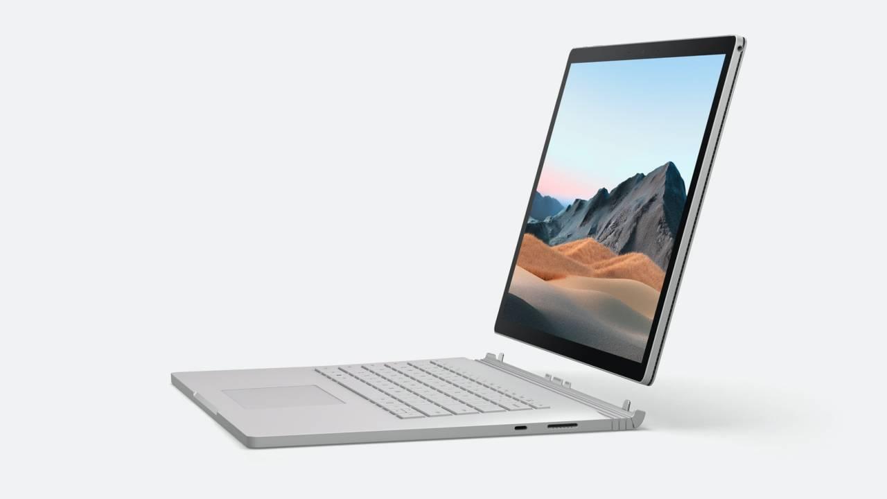 微软Surface Book 3透露:13英寸和15英寸获得了巨大的性能提升