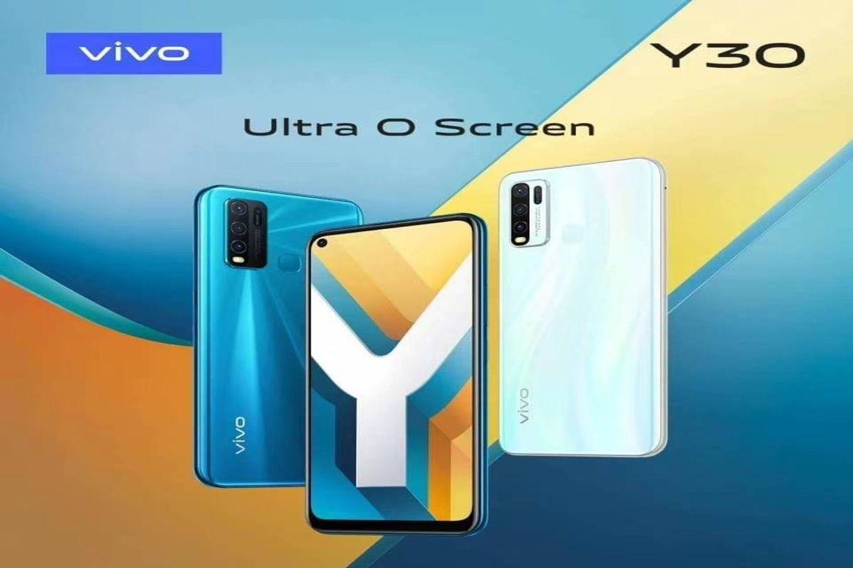 带有6.47英寸Ultra O屏幕,5000mAh电池的Vivo Y30,联发科发布Helio P35 SoC:价格,功能
