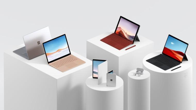 微软揭示了为什么新的Surface设备没有附带物理摄像头保护套