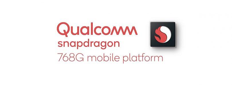 高通宣布骁龙768G移动平台-超频的骁龙765G