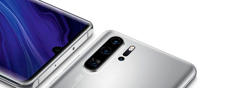 华为P30 Pro新版以谷歌应用程序支持的新银色发布