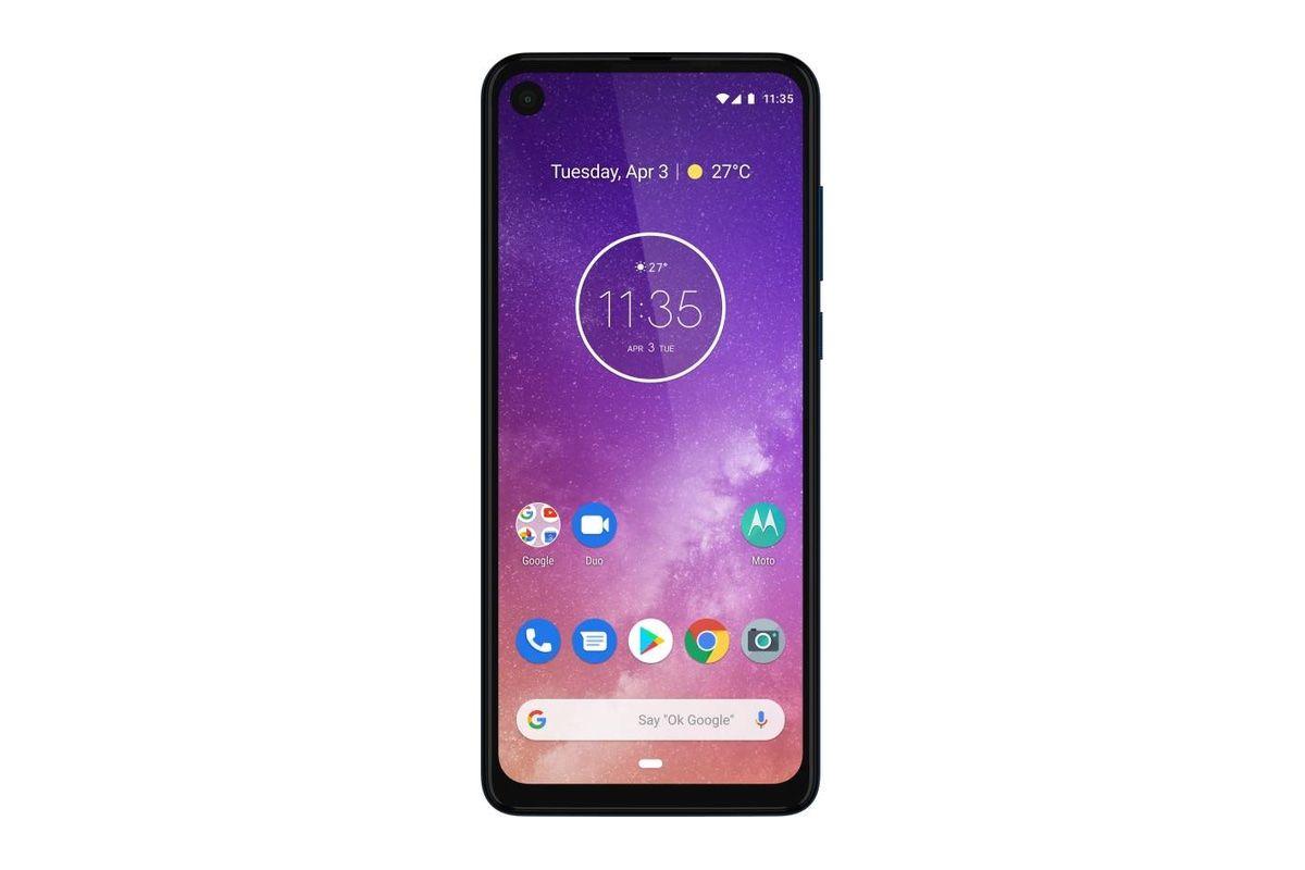 带有6.3英寸显示屏,4GB RAM表面的Motorola One Vision Plus在Google Android Enterprise Directory中