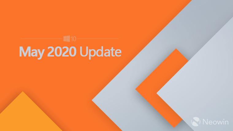 微软向MSDN发布2020年5月10日Windows更新