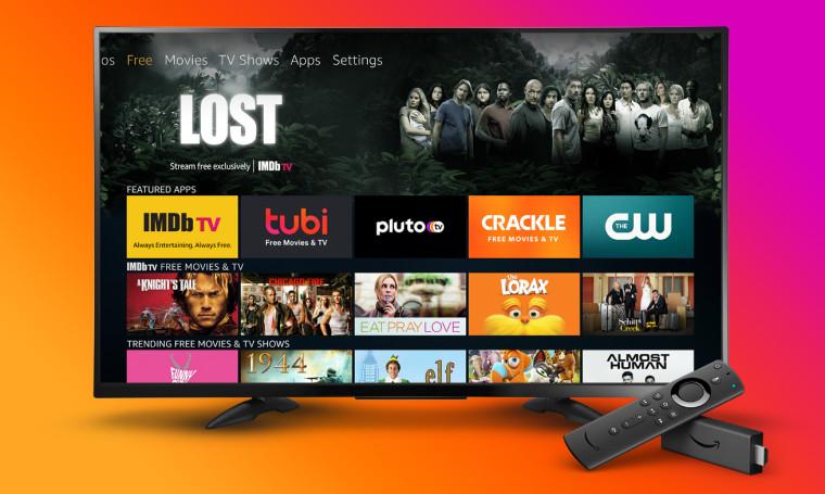亚马逊使在Fire TV上查找免费内容变得更加容易