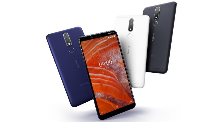 Android 10现已推出诺基亚3.1 Plus