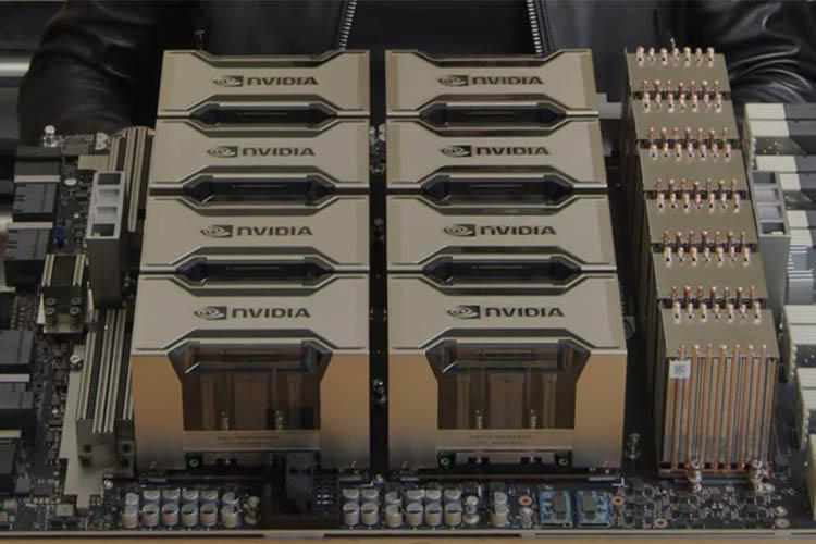 英伟达在GTC 2020主题演讲中推出新的``安培''架构,A100 GPU