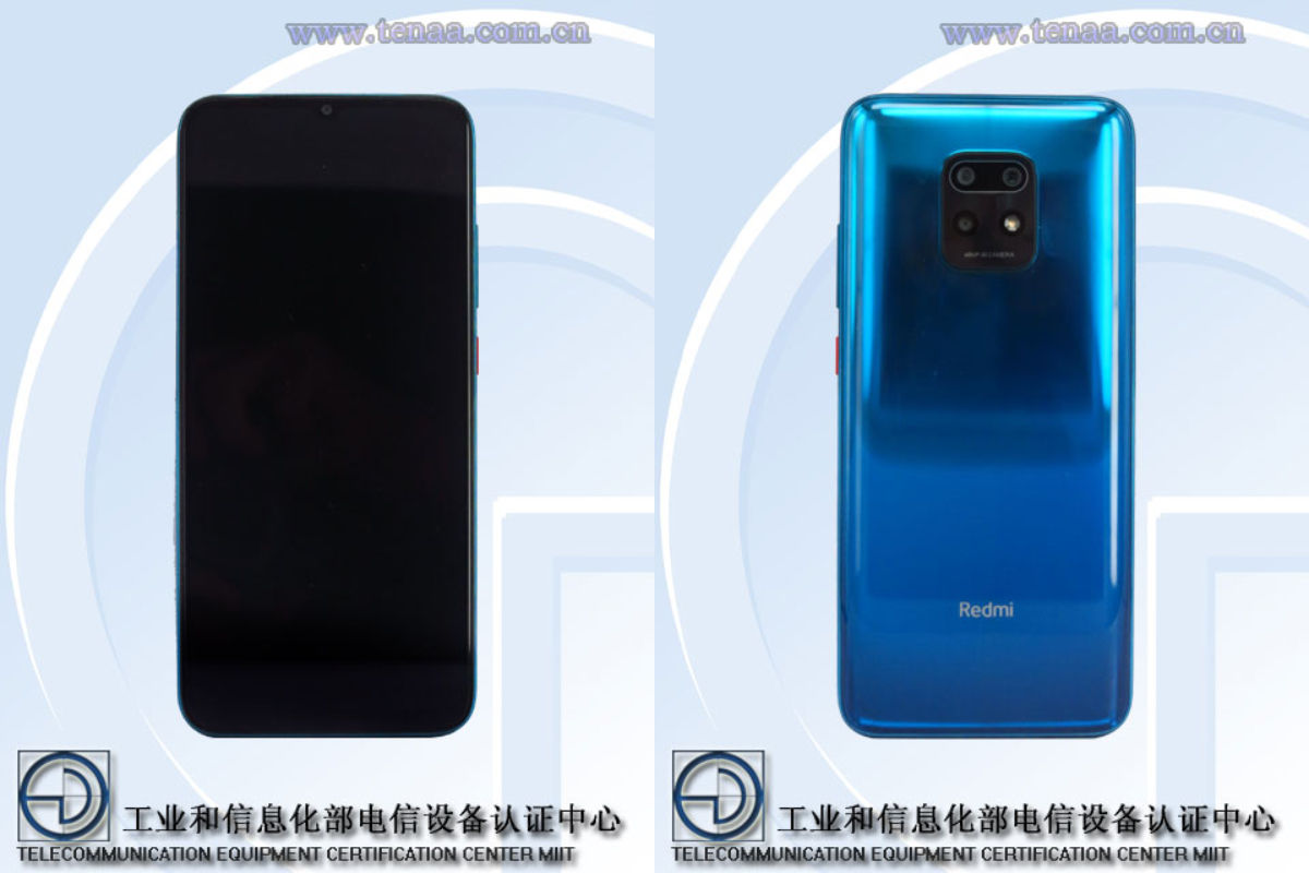 新的Redmi 5G智能手机获得TENAA认证;联发科技Dimensity 820 SoC,6.57英寸OLED显示屏以及更多功能