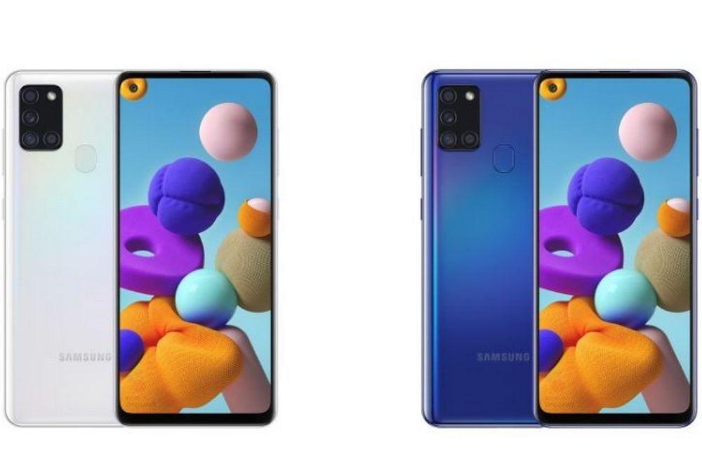 三星Galaxy A21s的完整规格和渲染图泄漏,预计于5月底推出