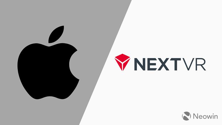 苹果确认收购虚拟现实事件提供商NextVR