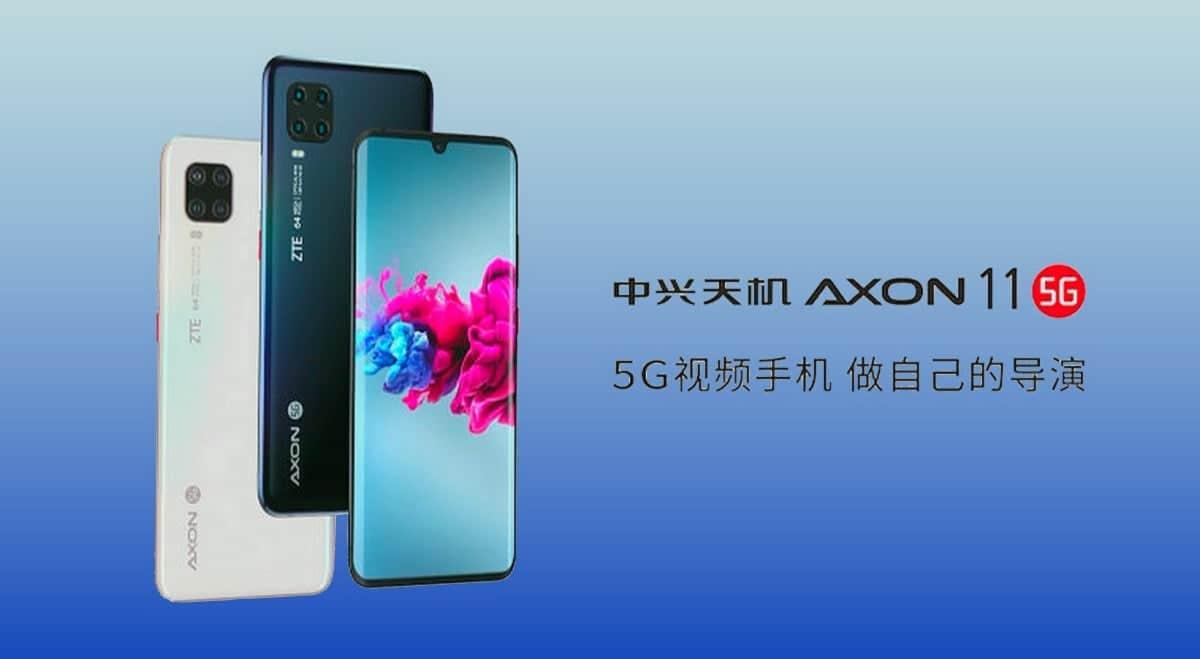 中兴Axon 11 SE 5G将于6月1日在中国成功测试