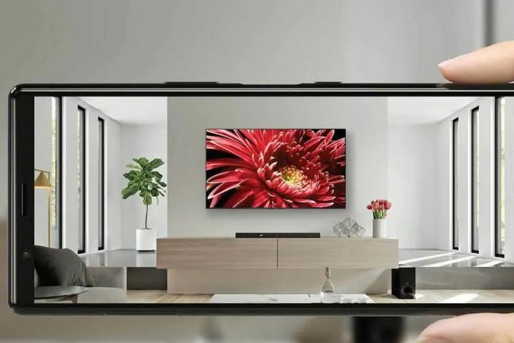 索尼的新AR应用程序将在您的墙上放置虚拟电视