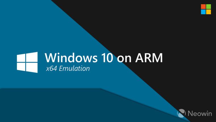 GitHub上对64位Intel应用程序的ARM仿真Windows 10参考支持