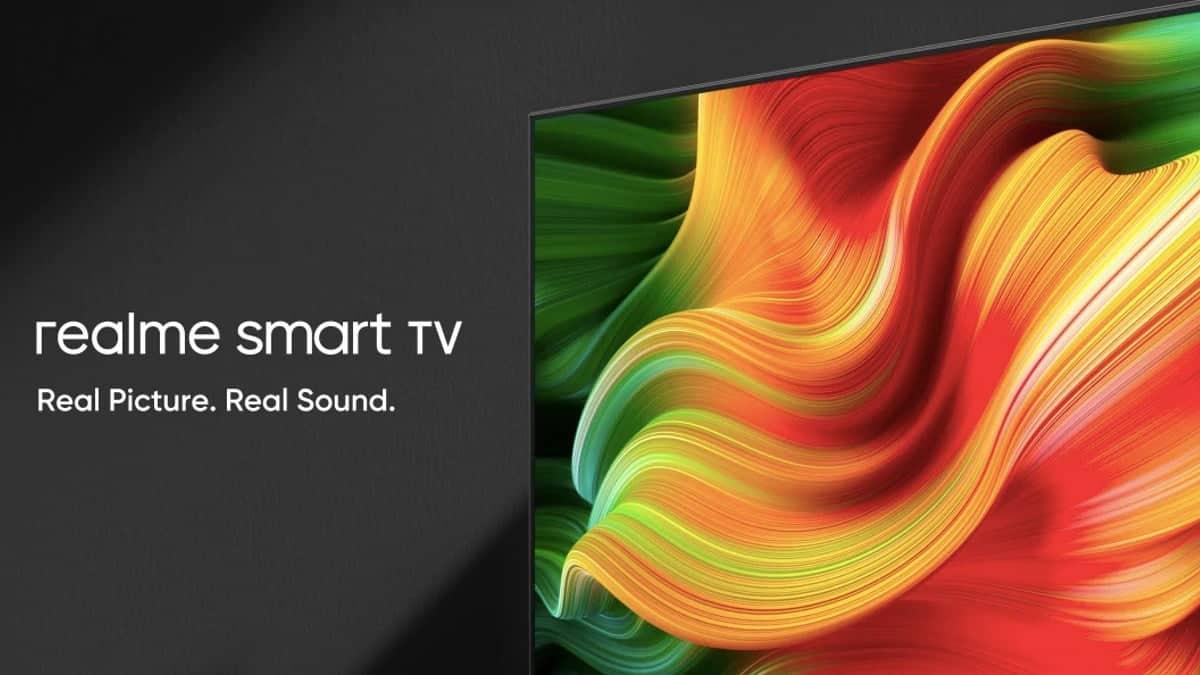 Realme电视具有高达400尼特的亮度和四声道扬声器