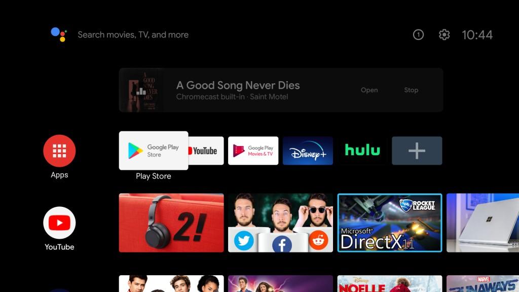 Android TV现在可以在后台播放投射的音频