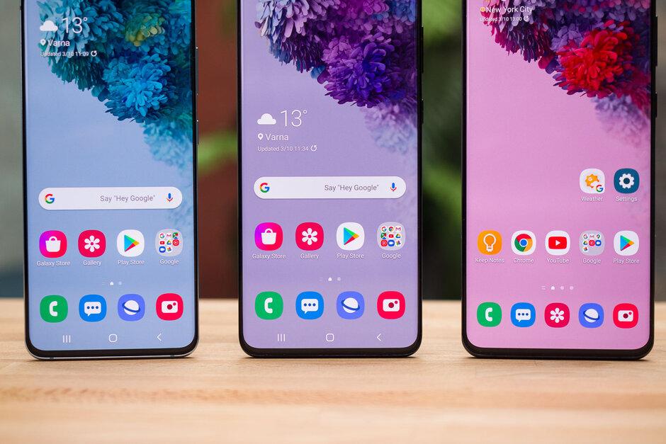 2020年第一季度,Galaxy S20三重奏在美国5G销售额中占94%