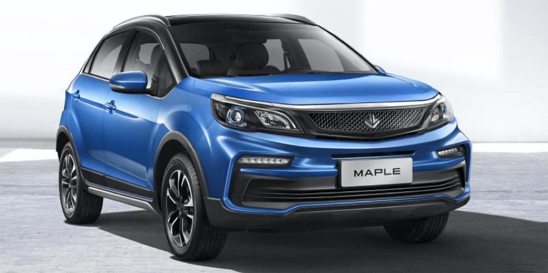 Maple 30x是中国的新型低成本电动汽车
