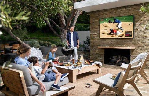 三星Terrace是一款QLED 4K电视