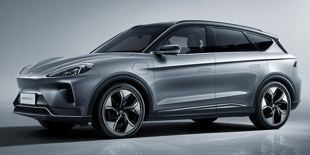 北汽品牌Arcfox在中国推出首款BEV