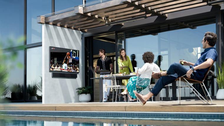 三星宣布推出户外4K QLED电视The Terrace