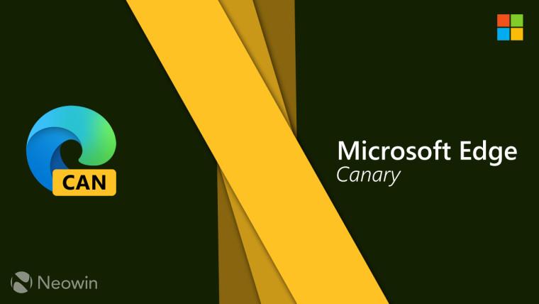 Microsoft Edge Canary通过Pinterest集成得到更新