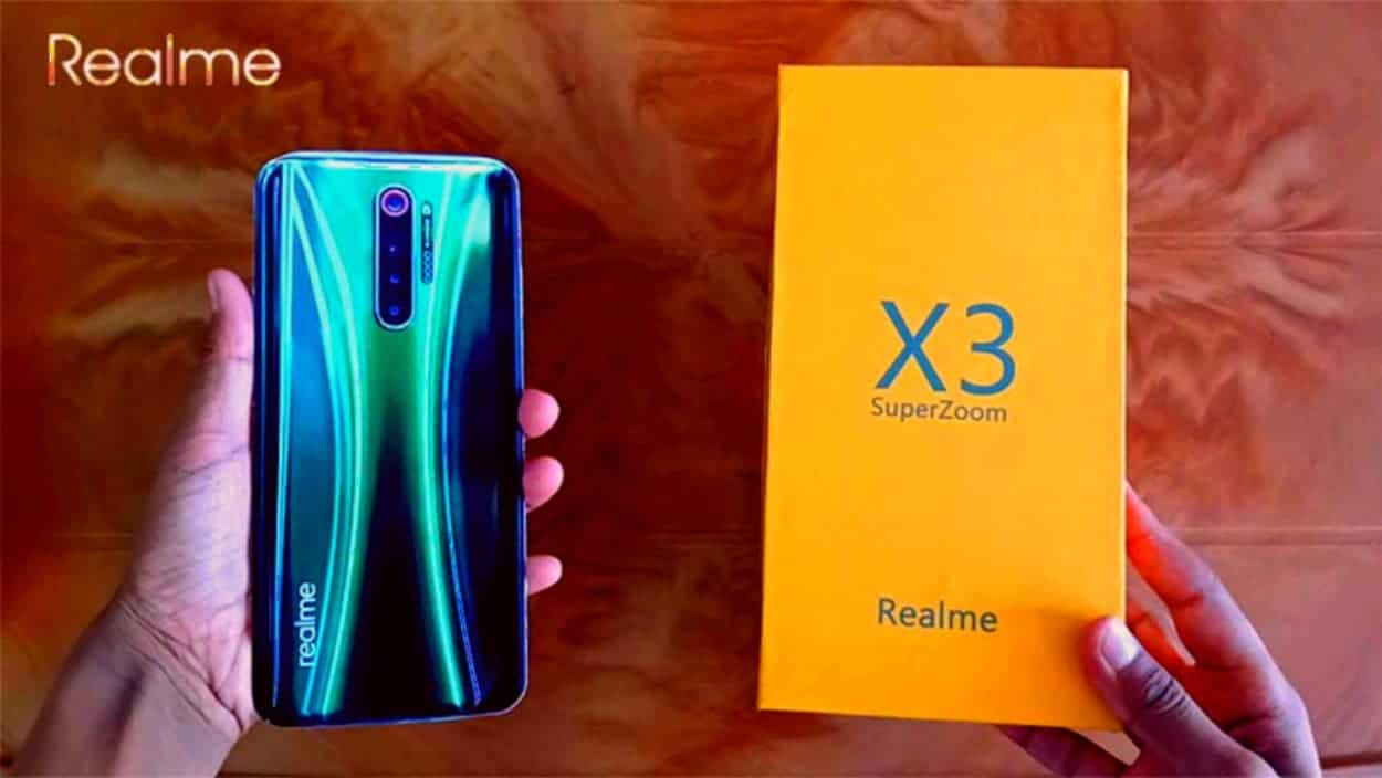 REALME X3 SUPERZOOM规格通过新预告片确认