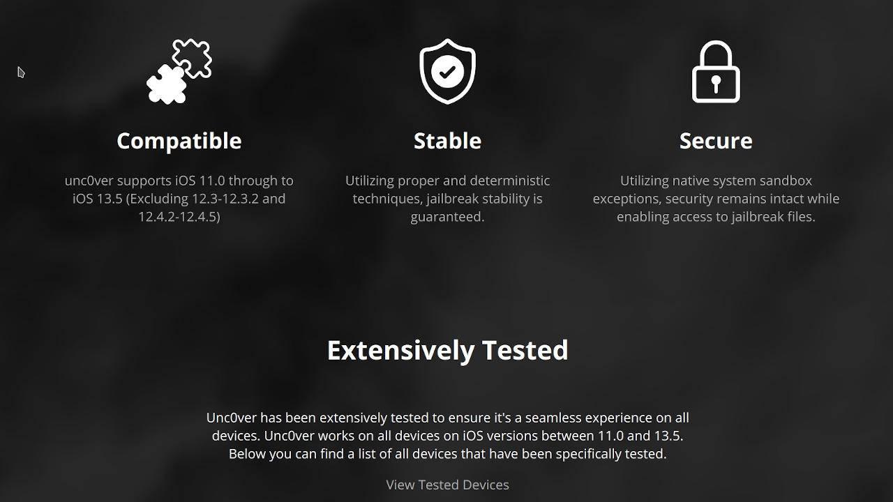 iOS 13.5已经越狱,但您可能要推迟