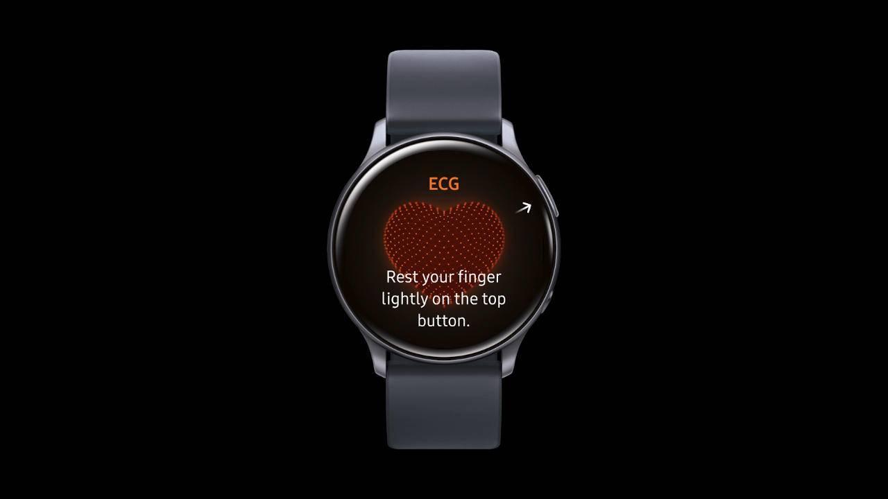Galaxy Watch Active 2 ECG已获准在韩国使用