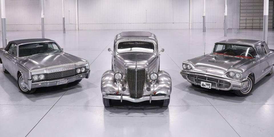 抛光且价格昂贵:这三款不锈钢福特汽车即将拍卖