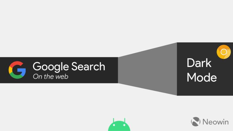 Google正在通过Android上的Chrome标志测试网络上的搜索的暗模式