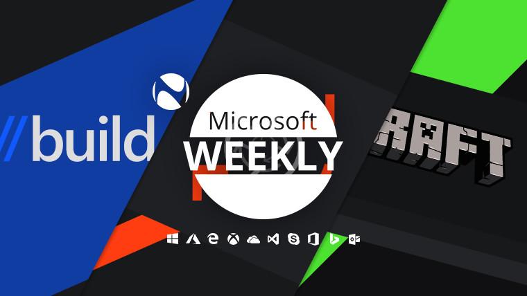 微软周刊:Build 2020,相关更新和Minecraft达到2亿