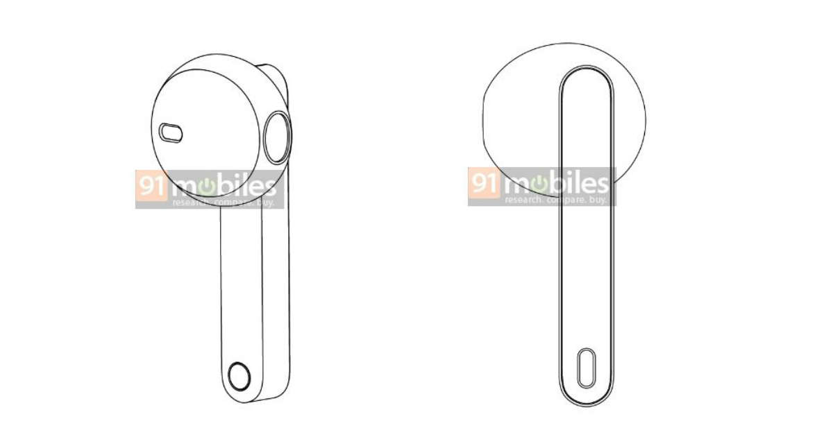 联想在专利图片中发现了具有AirPods样杆设计的真正无线耳塞