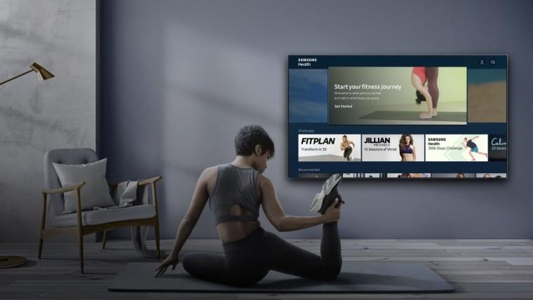 三星终于将其健康应用程序引入其2020年智能电视