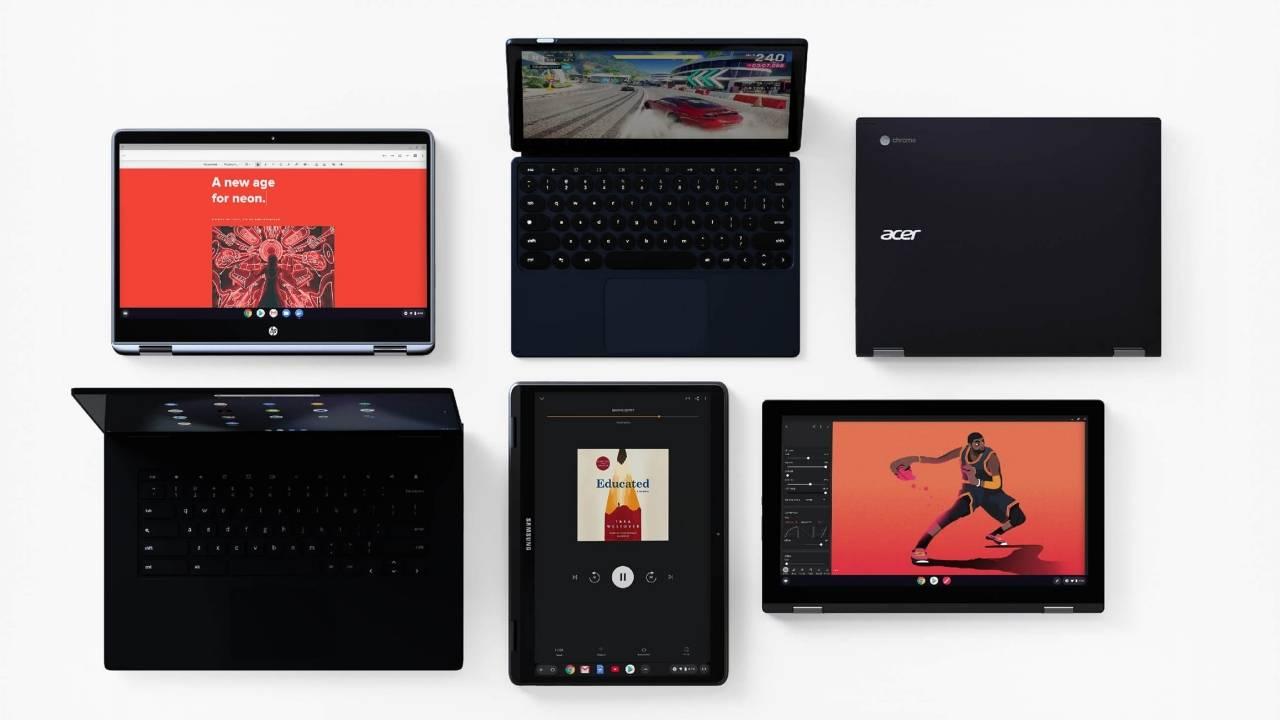 Chrome OS 83将家族控件和选项卡组添加到Chromebook