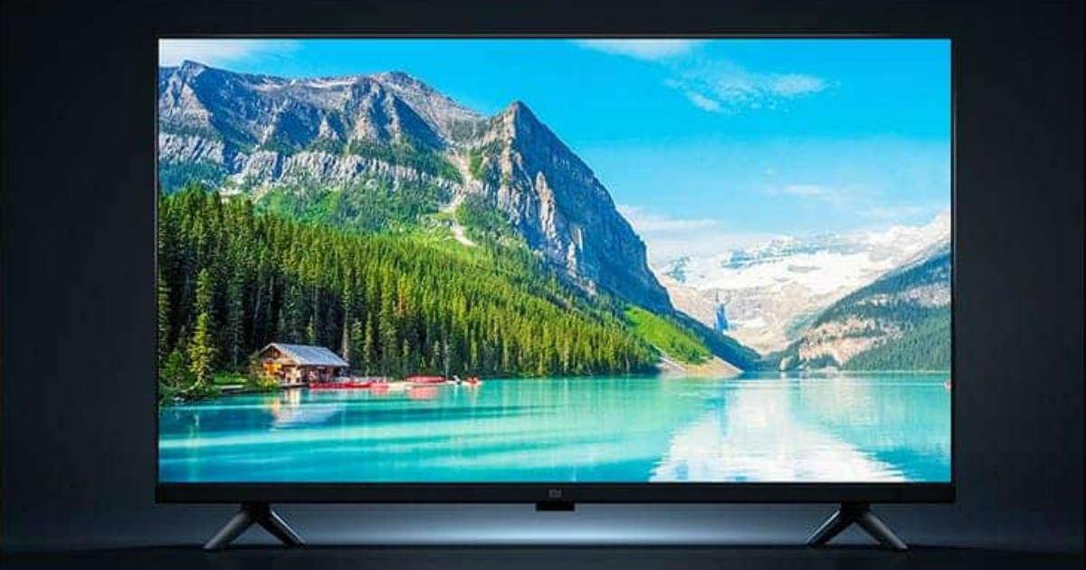 Mi TV Pro 32英寸智能电视全面屏显示,价格合理