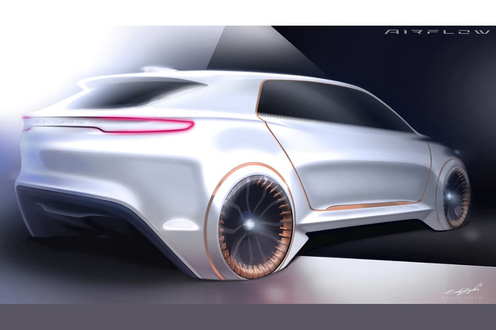 克莱斯勒Airflow Vision概念车将亮相CES