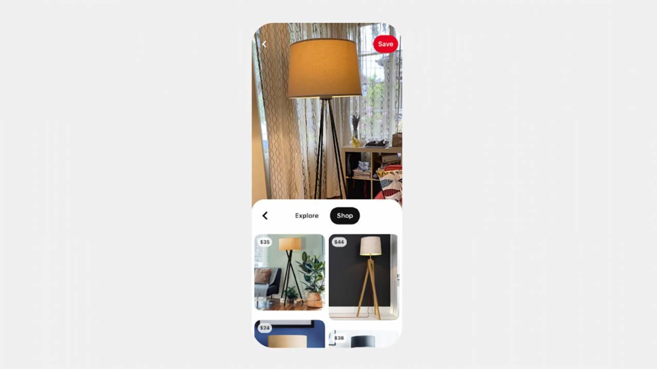 Pinterest镜头视觉搜索工具可用于购买IRL物品