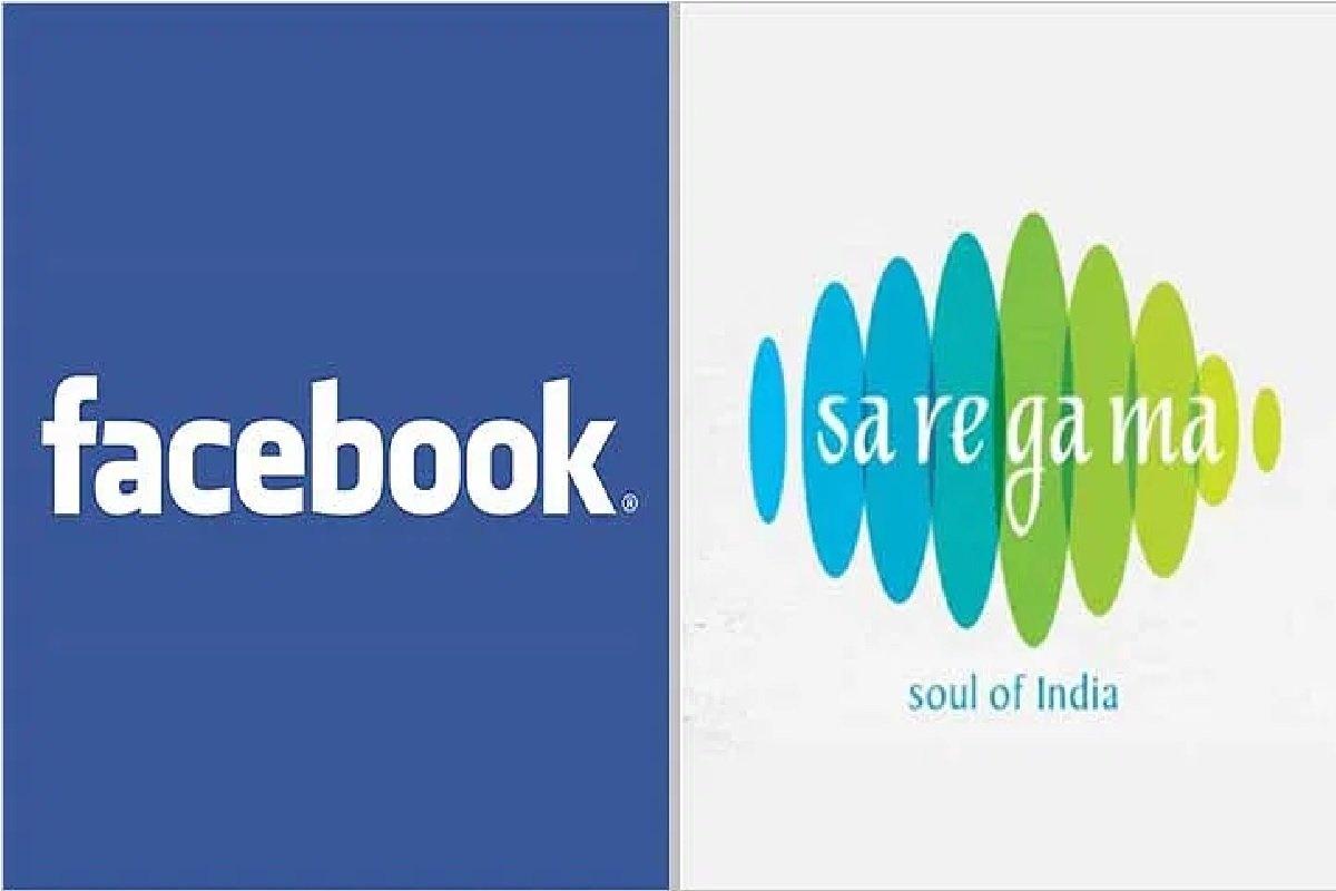 Facebook与印度音乐唱片公司Saregama签署了全球许可协议