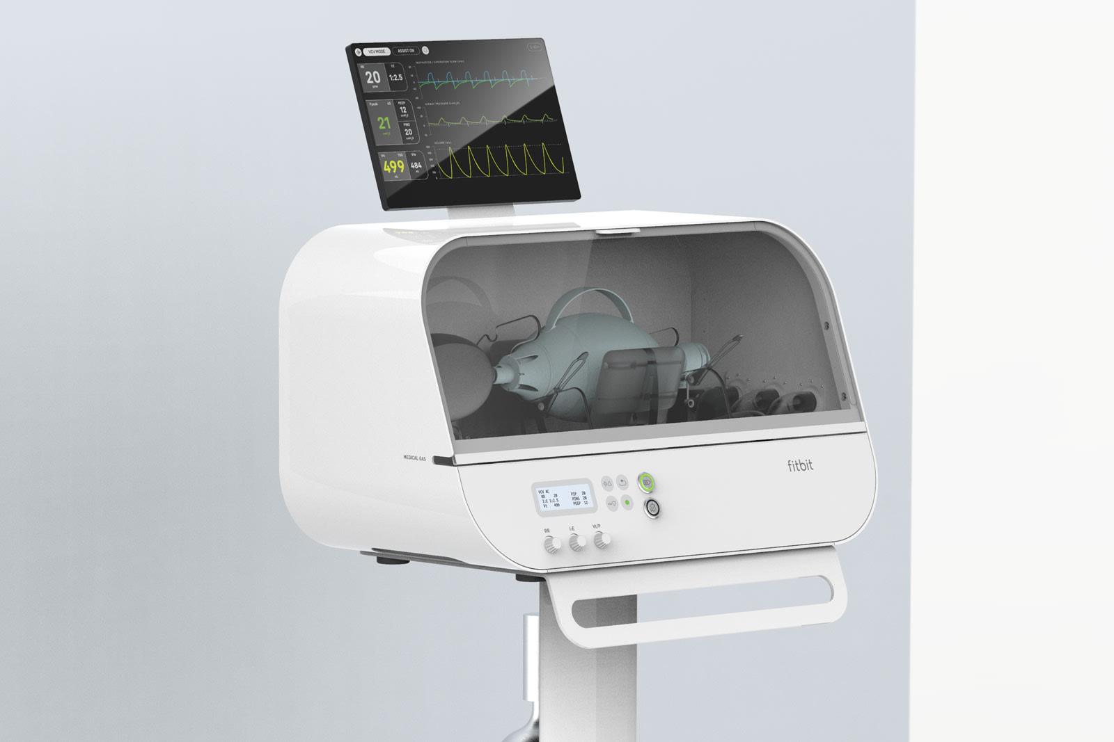 适用于COVID-19的Fitbit流量呼吸机获得FDA的紧急批准