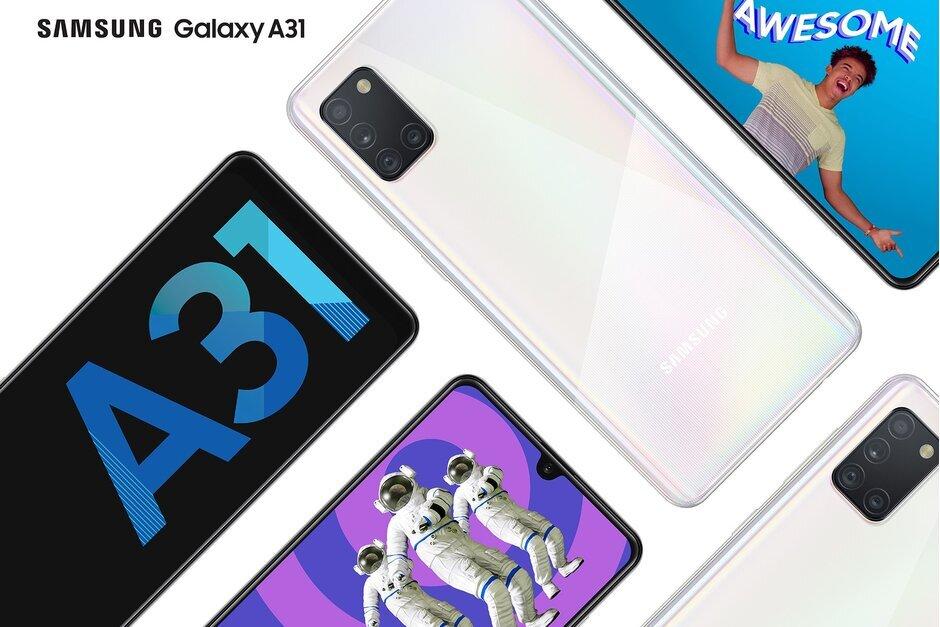 三星Galaxy A31在印度正式发售,价格为21,999卢比(291美元)