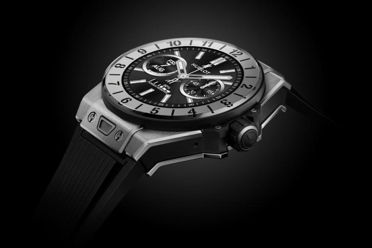 恒宝Big Bang e作为奢侈品牌首款全面量产的智能手表亮相