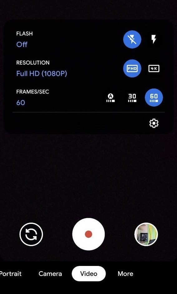 Pixel 4的视频可实现8倍变焦,并使用Google Camera 7.4快速切换分辨率