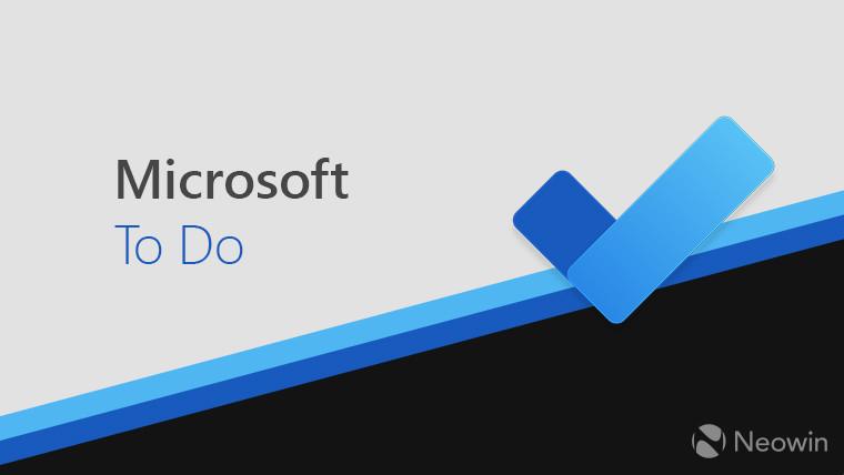 适用于iOS的Microsoft To Do更新了新功能和改进