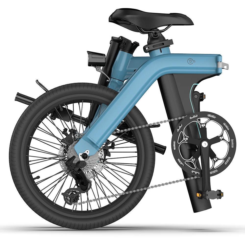 FIIDO D11可折叠电动自行车,续航100公里,即将在Indiegogo上亮相