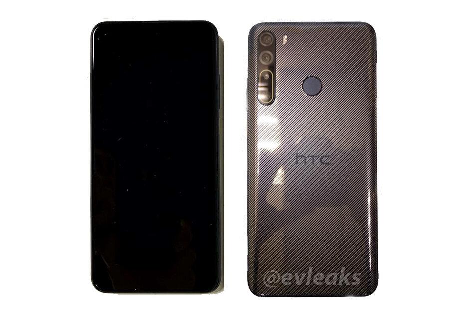 HTC Desire 20 Pro泄露的照片揭示了令人失望的沉闷设计