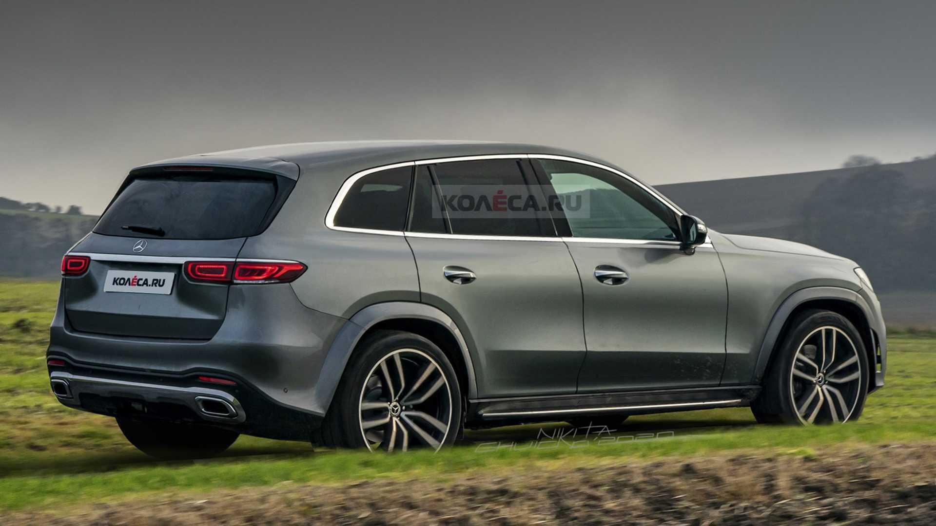 2022年梅赛德斯GLC渲染想象一辆更精致的SUV